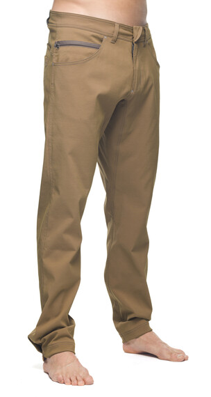 Houdini M's Action Twill Pants Crust Brown